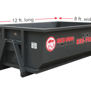 10 CY dumpsters for rent